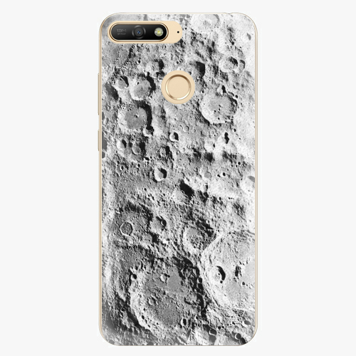 Silikonové pouzdro iSaprio - Moon Surface - Huawei Y6 Prime 2018