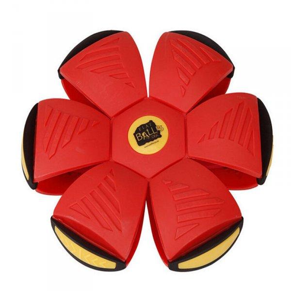 Flat Ball - placatý míč - Červená