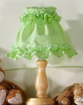 Noční lampička - Zelená