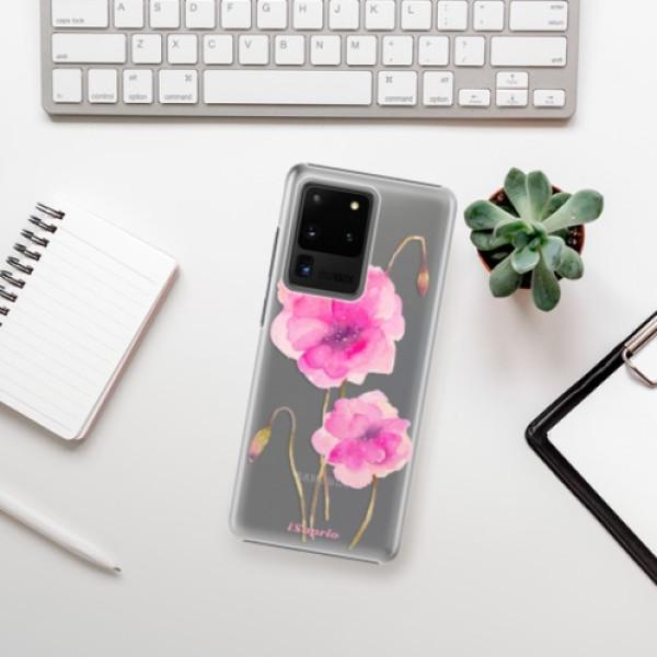 Plastové pouzdro iSaprio - Poppies 02 - Samsung Galaxy S20 Ultra