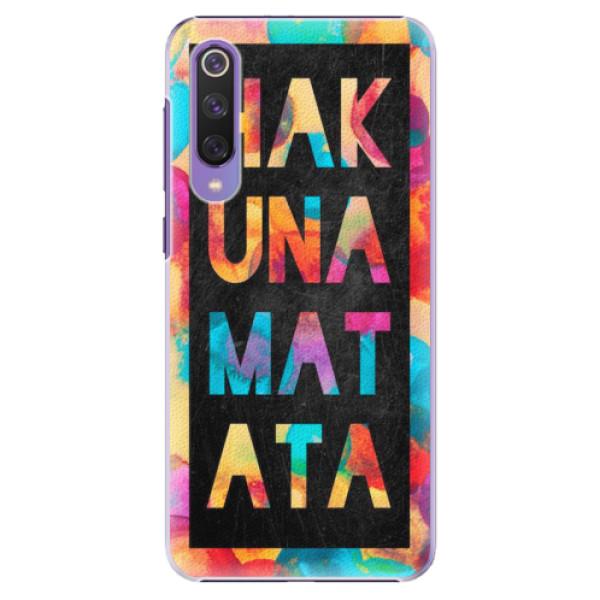 Plastové pouzdro iSaprio - Hakuna Matata 01 - Xiaomi Mi 9 SE