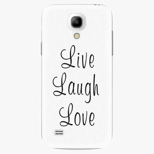 Plastový kryt iSaprio - Live Laugh Love - Samsung Galaxy S4 Mini