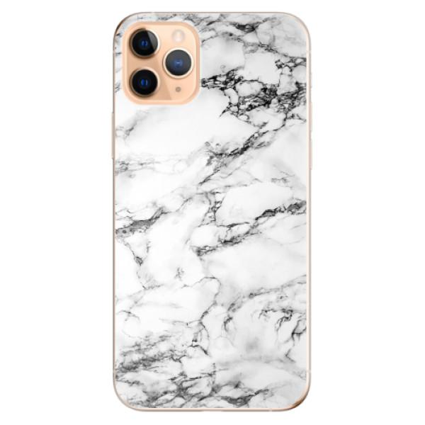 Odolné silikonové pouzdro iSaprio - White Marble 01 - iPhone 11 Pro Max