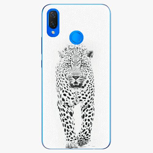 Plastový kryt iSaprio - White Jaguar - Huawei Nova 3i