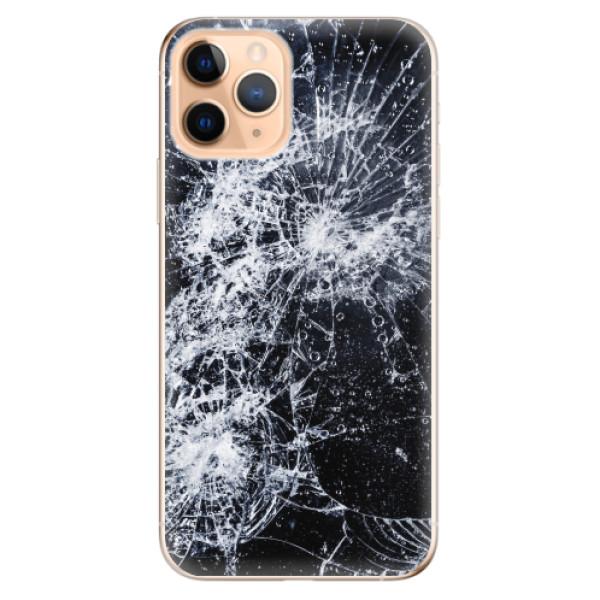 Odolné silikonové pouzdro iSaprio - Cracked - iPhone 11 Pro