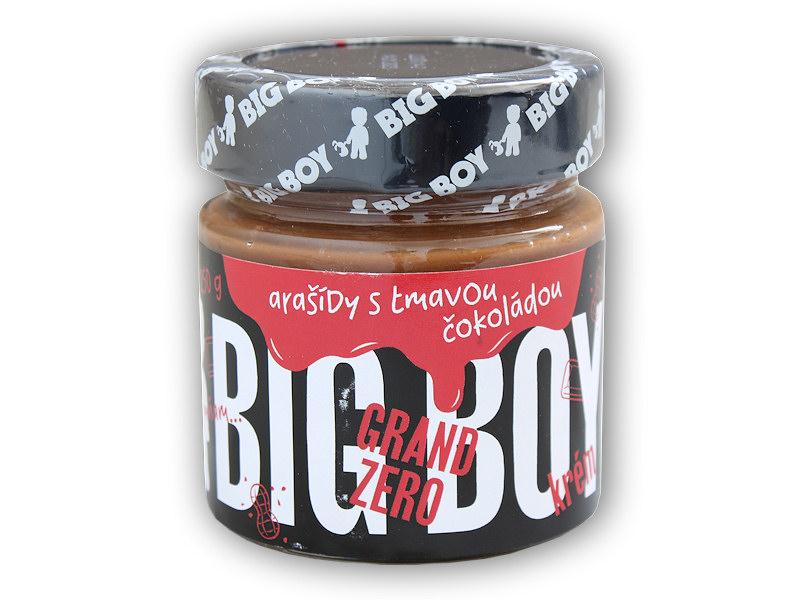 Grand zero <b>arašídový</b> krém tmavá čokoláda 250g