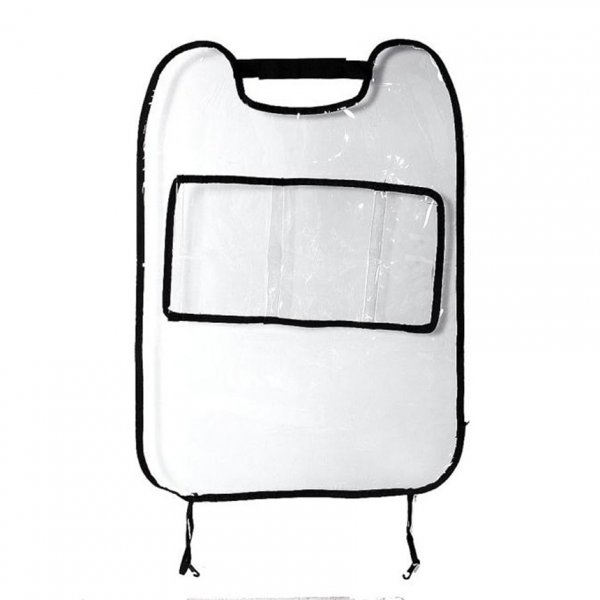 Transparentní chránič sedadel s přihrádkou