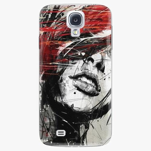 Plastový kryt iSaprio - Sketch Face - Samsung Galaxy S4