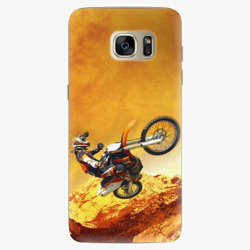 Plastový kryt iSaprio - Motocross - Samsung Galaxy S7