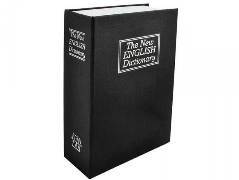 Tajná schránka - trezor v knize