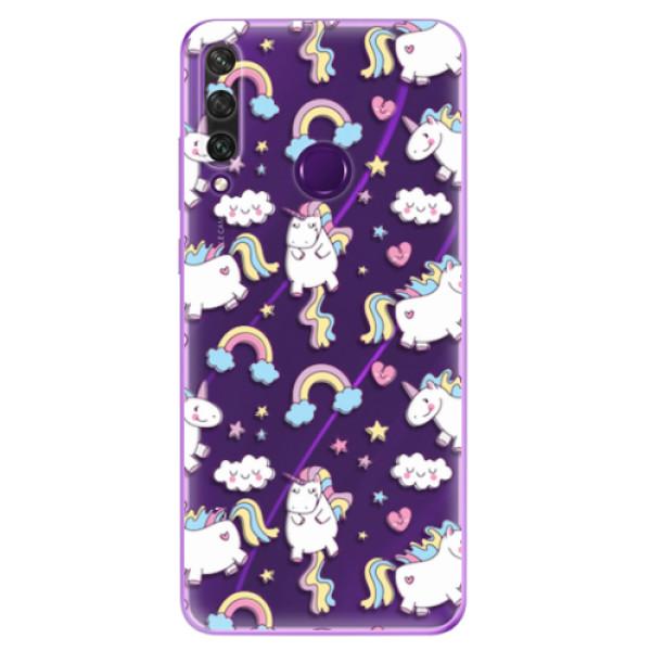 Odolné silikonové pouzdro iSaprio - Unicorn pattern 02 - Huawei Y6p