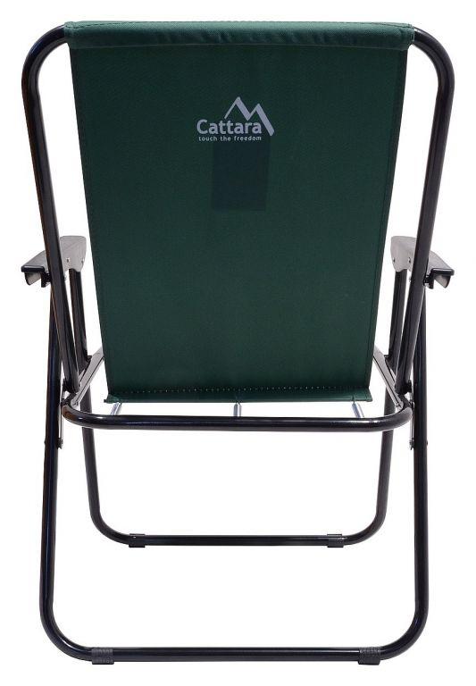 Kempingová skládací židle BERN - zelená
