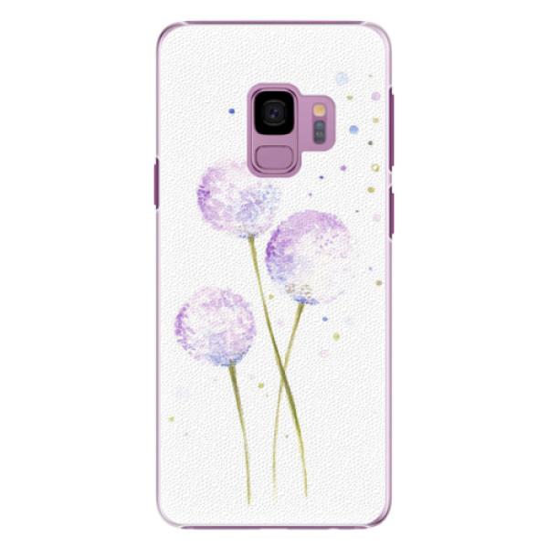 Plastové pouzdro iSaprio - Dandelion - Samsung Galaxy S9