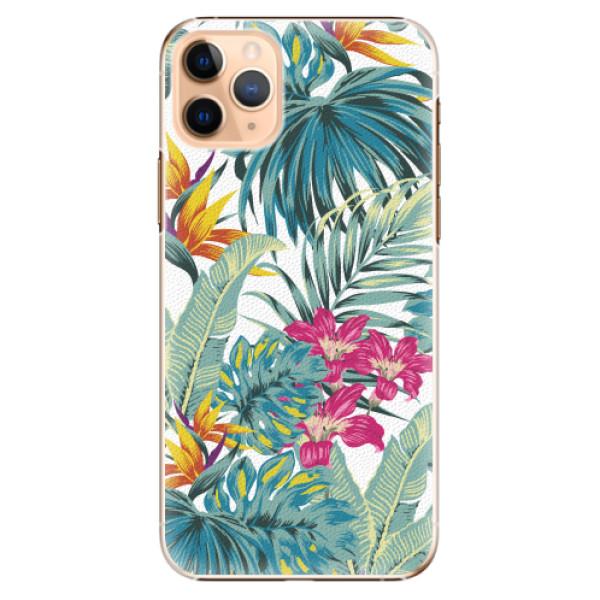 Plastové pouzdro iSaprio - Tropical White 03 - iPhone 11 Pro Max