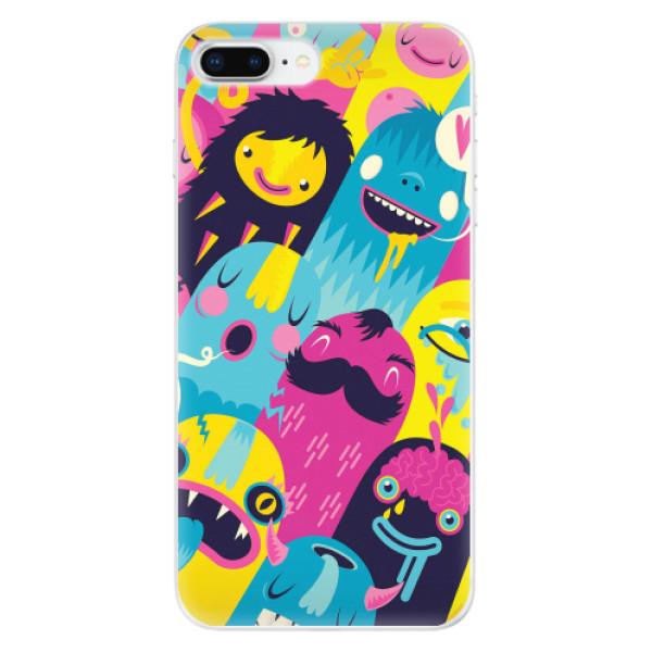 Odolné silikonové pouzdro iSaprio - Monsters - iPhone 8 Plus