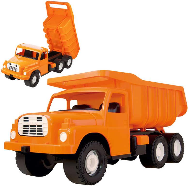 Tatra T148 klasické nákladní auto na písek 73cm oranžové sklápěcí korba