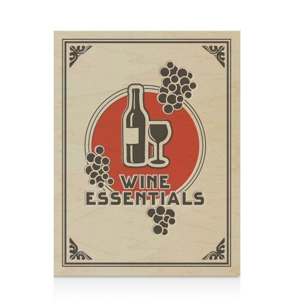 Velká kniha s nářadím na víno