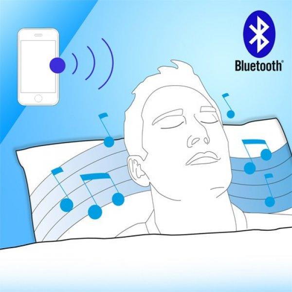 Bluetooth hudební polštář