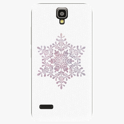 Plastový kryt iSaprio - Snow Flake - Huawei Ascend Y5