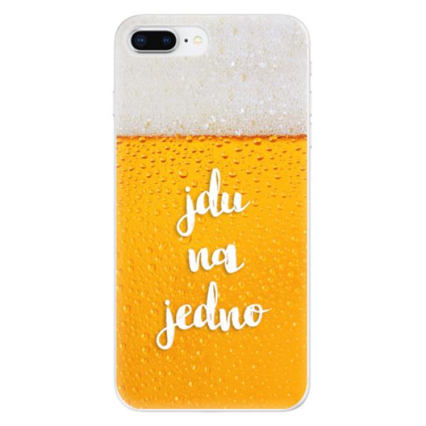 Odolné silikonové pouzdro iSaprio - Jdu na jedno - iPhone 8 Plus