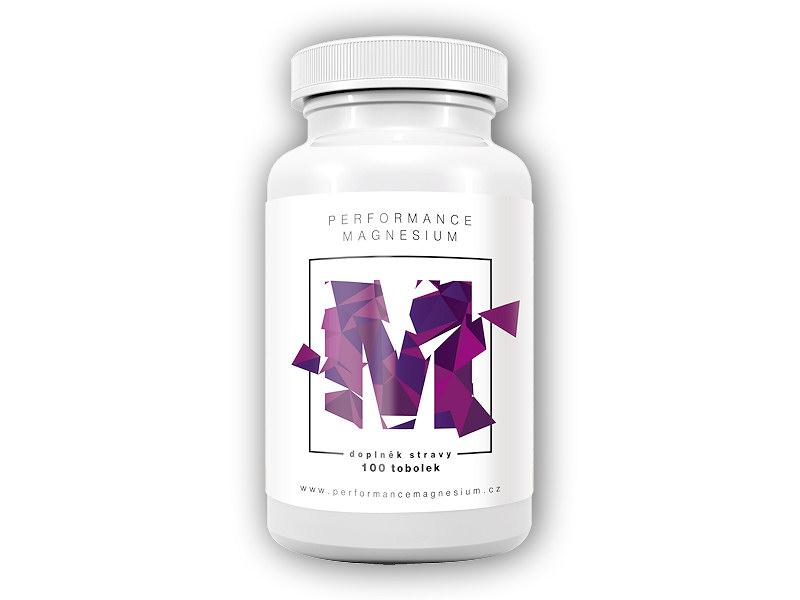 Performance Magnesium 1000mg hořčík-B6 100cps