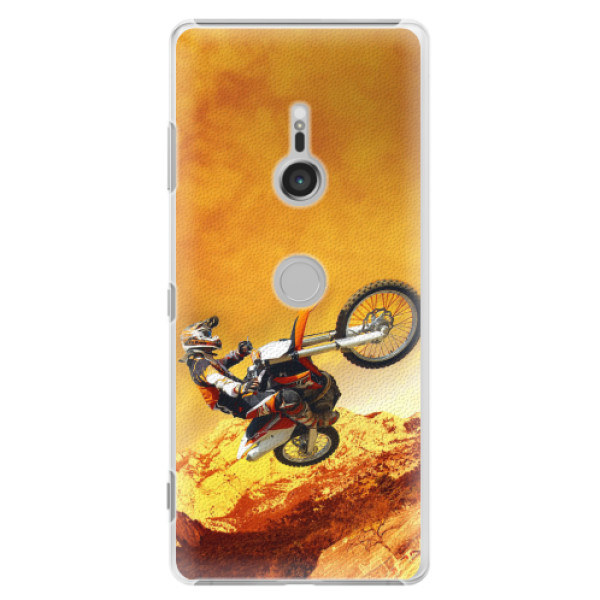 Plastové pouzdro iSaprio - Motocross - Sony Xperia XZ3