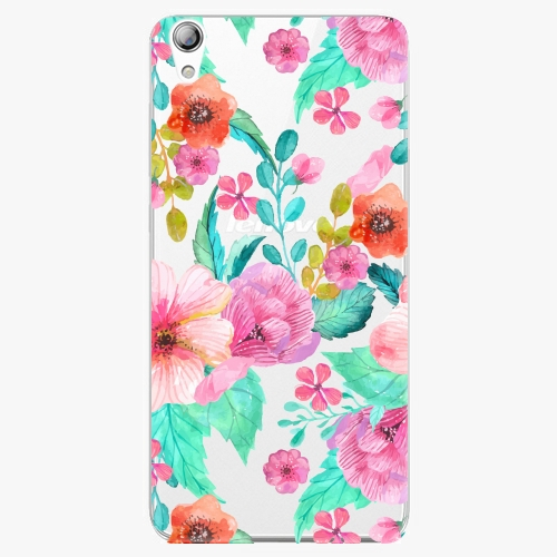 Plastový kryt iSaprio - Flower Pattern 01 - Lenovo S850