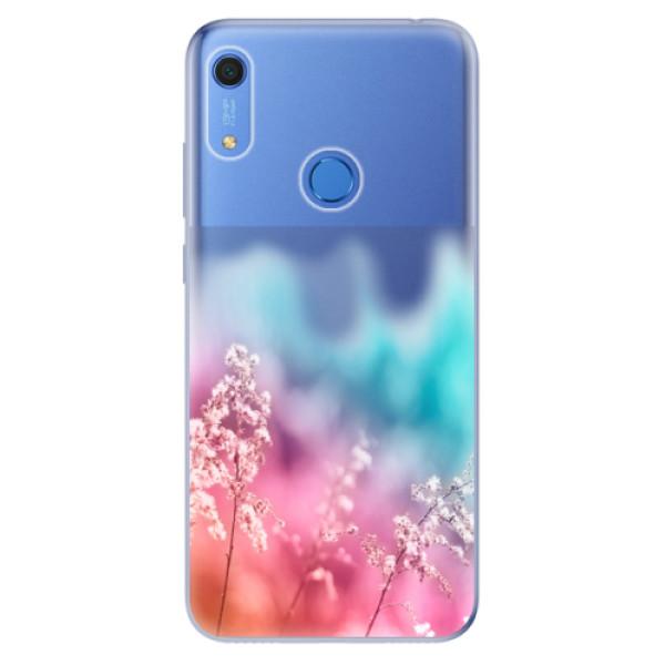 Odolné silikonové pouzdro iSaprio - Rainbow Grass - Huawei Y6s