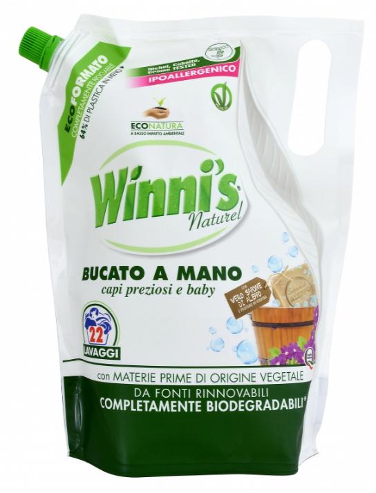 BUCATO A MANO Ecoformato 814 ml prací gel (22 praní)