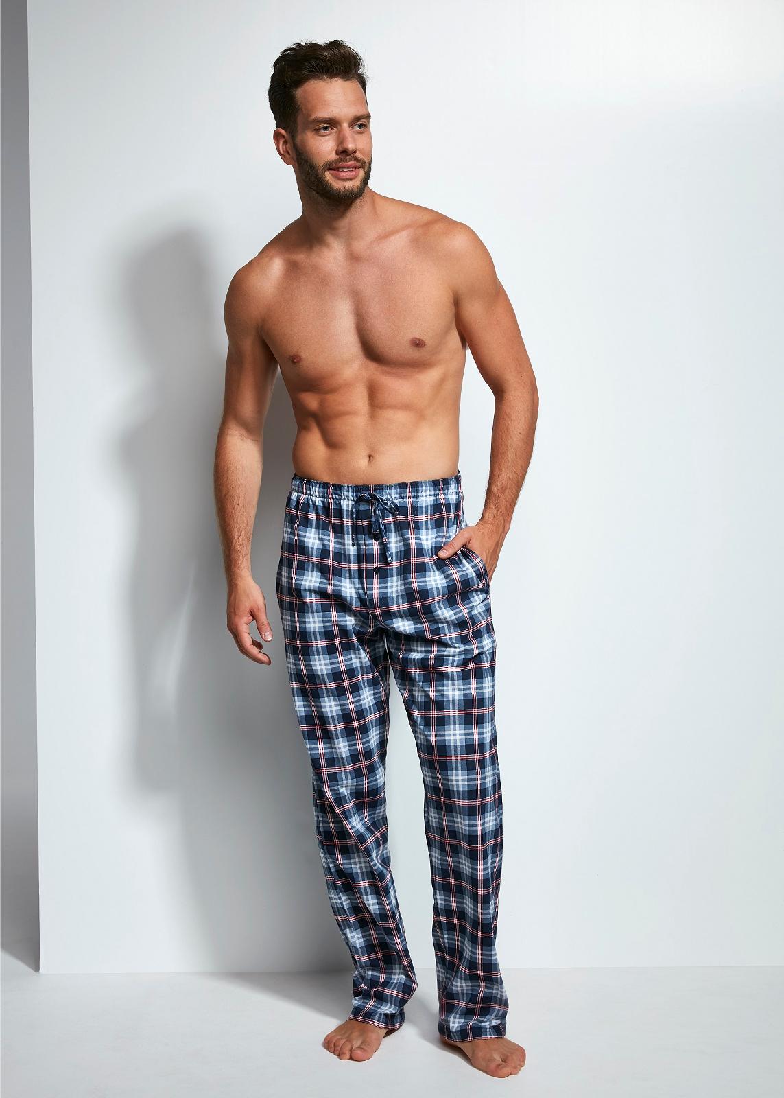 Pánské pyžamové kalhoty Cornette 691/11 625002 - Tmavě