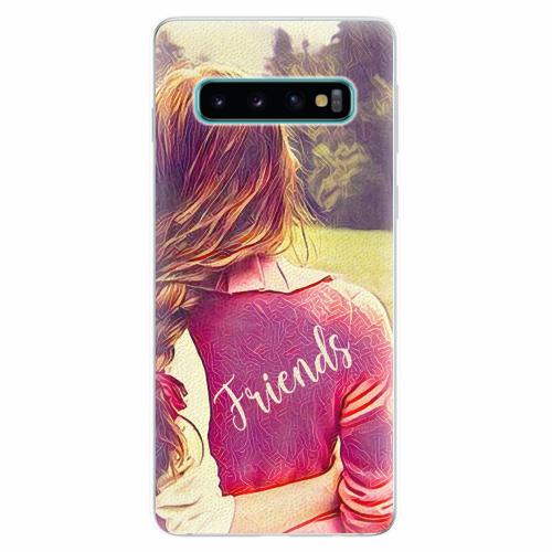 Silikonové pouzdro iSaprio - BF Friends - Samsung Galaxy S10