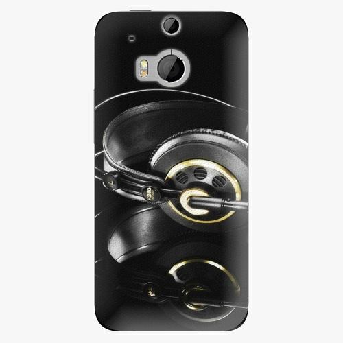 Plastový kryt iSaprio - Headphones 02 - HTC One M8