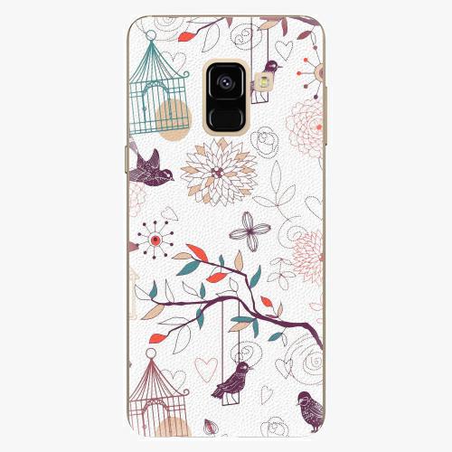 Plastový kryt iSaprio - Birds - Samsung Galaxy A8 2018