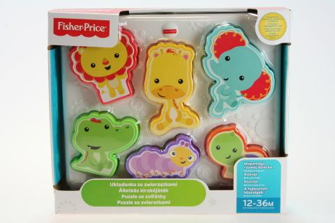 Fisher Price Puzzle se zvířátky CMY38