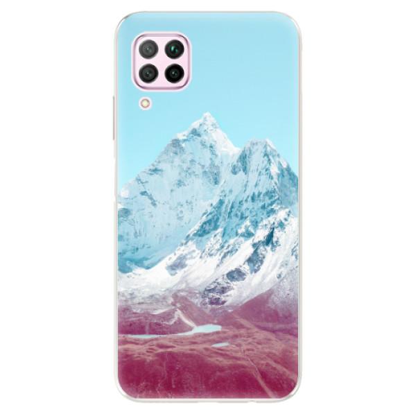 Odolné silikonové pouzdro iSaprio - Highest Mountains 01 - Huawei P40 Lite