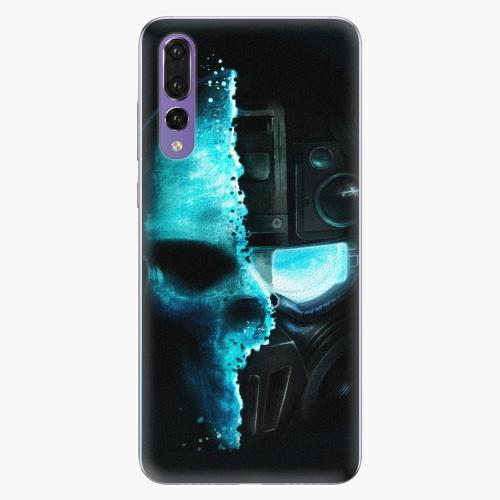 Plastový kryt iSaprio - Roboskull - Huawei P20 Pro