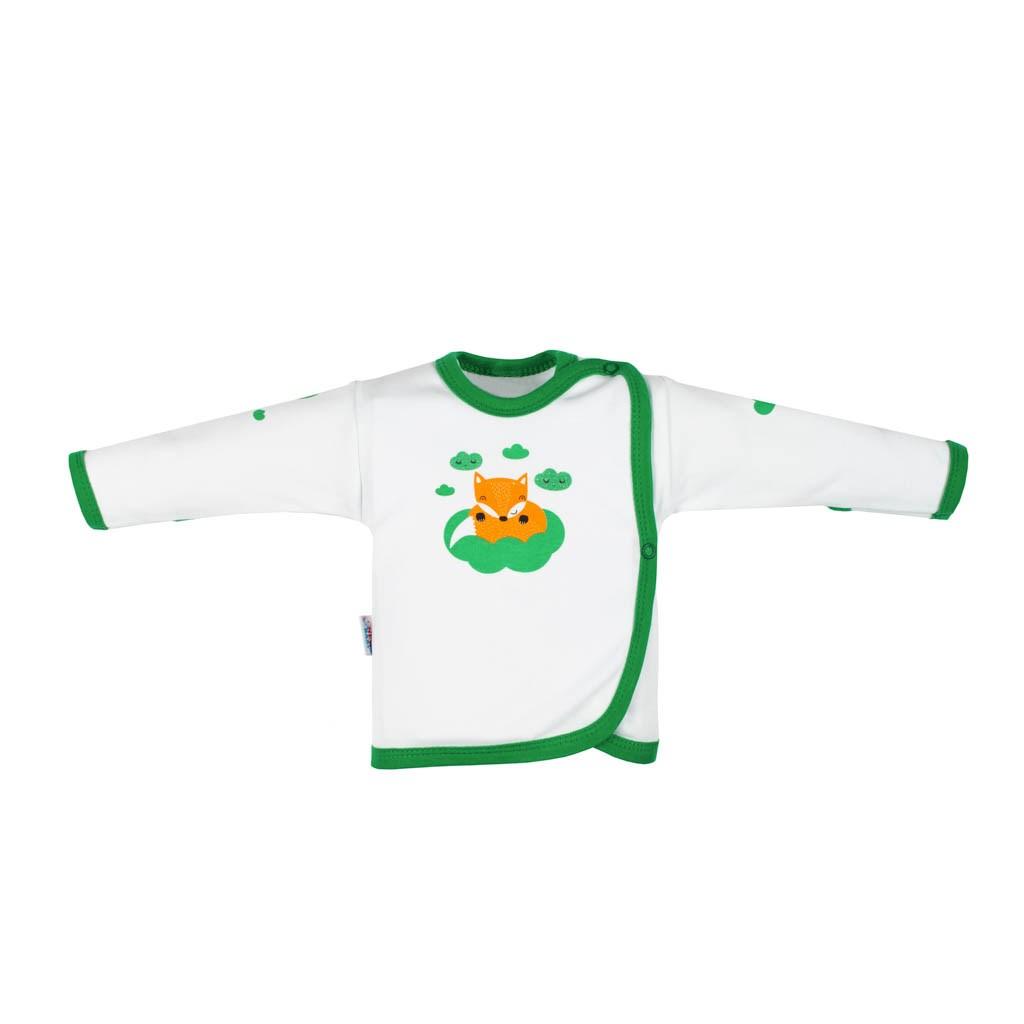 Kojenecká bavlněná košilka New Baby Liška