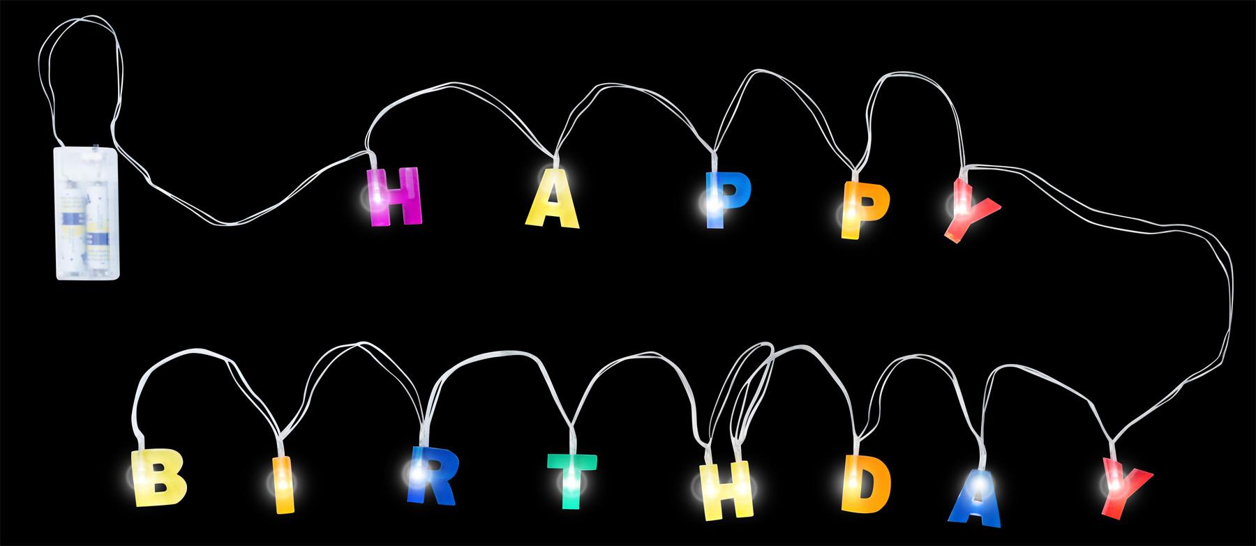 Small Foot Dekorační svítidlo Happy Birthday