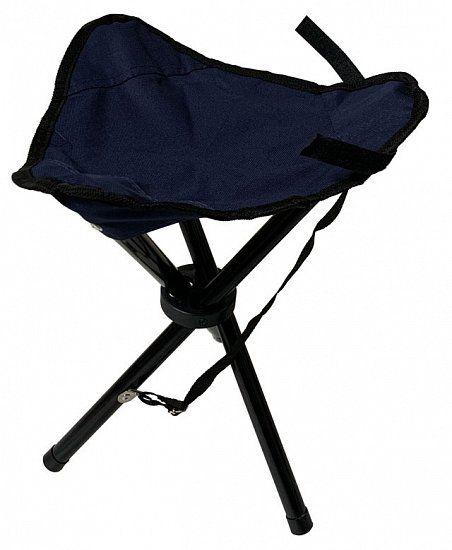 Skládací sedátko trojnožka - modré