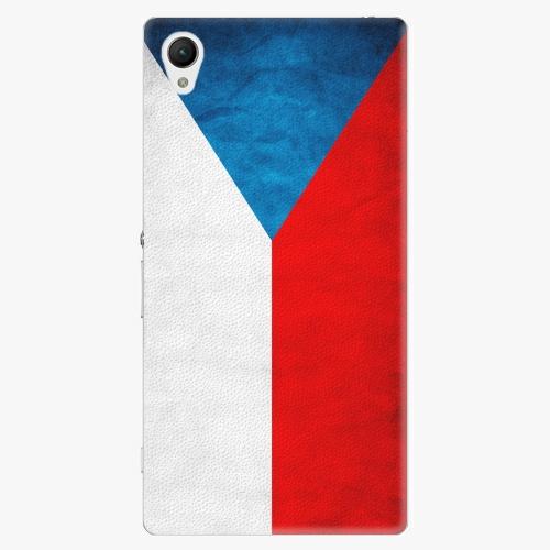 Plastový kryt iSaprio - Czech Flag - Sony Xperia Z1