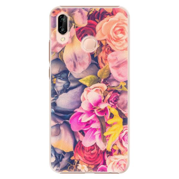 Plastové pouzdro iSaprio - Beauty Flowers - Huawei P20 Lite