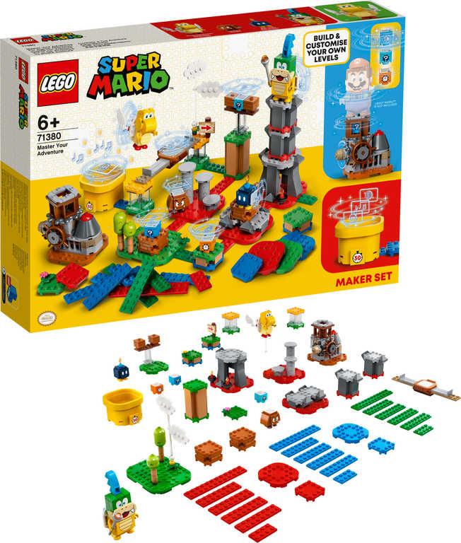 LEGO SUPER MARIO Mistrovská dobrodružství 71380 STAVEBNICE