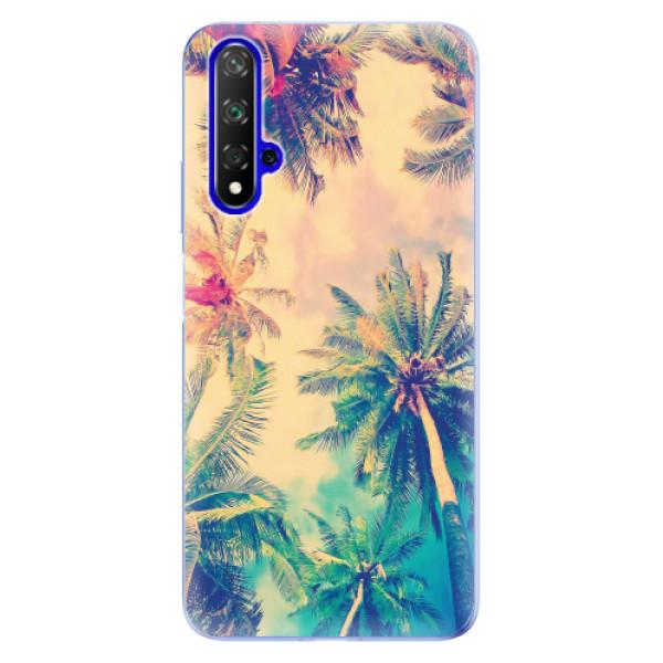 Odolné silikonové pouzdro iSaprio - Palm Beach - Huawei Honor 20