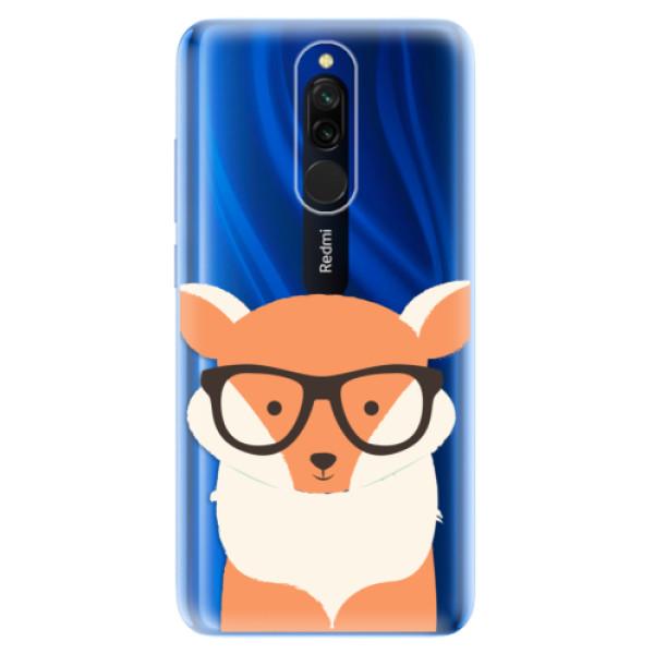 Odolné silikonové pouzdro iSaprio - Orange Fox - Xiaomi Redmi 8