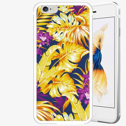 Plastový kryt iSaprio - Tropical Orange 04 - iPhone 6 Plus/6S Plus - Silver