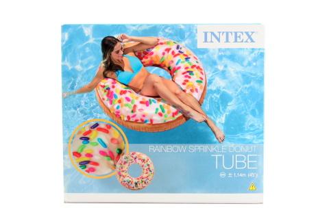 INTEX Kruh donut 114 cm 56263