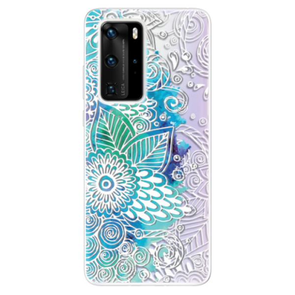 Odolné silikonové pouzdro iSaprio - Lace 03 - Huawei P40 Pro