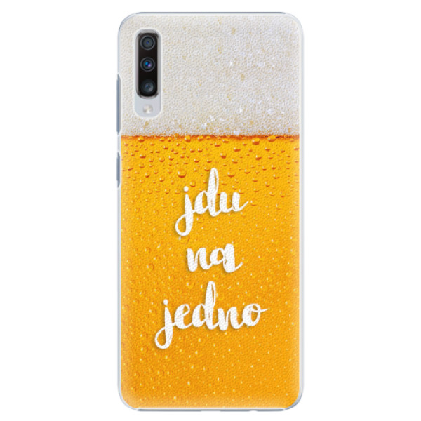 Plastové pouzdro iSaprio - Jdu na jedno - Samsung Galaxy A70