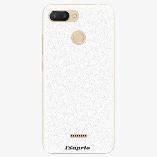 Plastový kryt iSaprio - 4Pure - bílý - Xiaomi Redmi 6