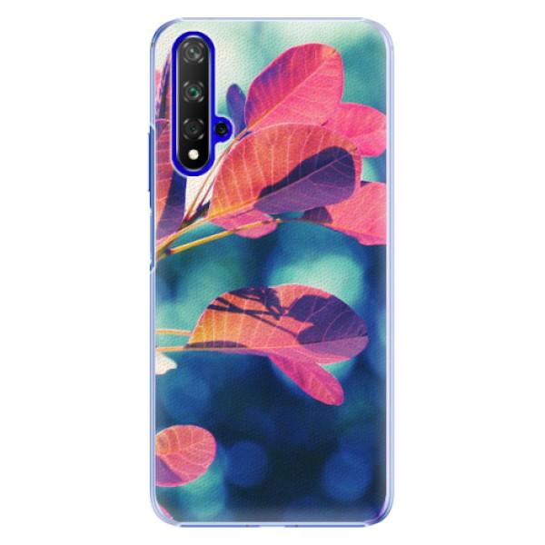 Plastové pouzdro iSaprio - Autumn 01 - Huawei Honor 20